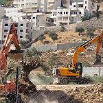 Bürgermeister protestieren gegen Mauerbau in Beit Jala