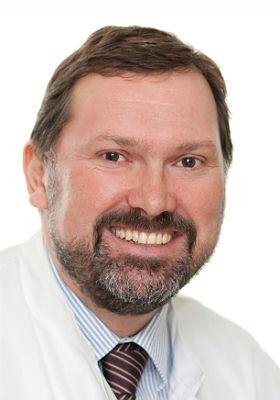 Andreas Hecker, Chefarzt der Klinik für Allgemein- und Viszeralchirurgie am EVK Bergisch Gladbach