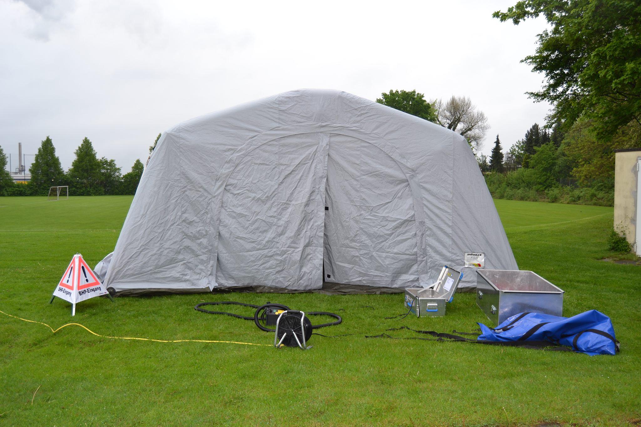 In BGL dürfen Menschen nicht in Zelten lagern!