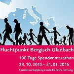 Spendenmarathon für Projekte der Flüchtlingshilfe