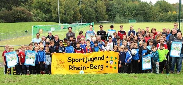 Fußballkamp des Netzwerkes Gronau-Hand, Bergisch Gladbach