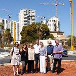 Delegation bereitet in Ganey Tikva neue Projekte vor
