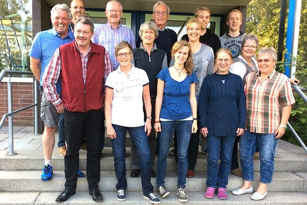 Das Ensemble des Laientheaters Strungerbaach 2015