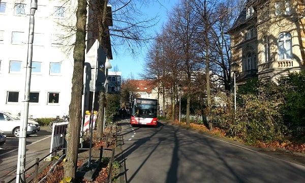 Der erste Schritt: Der Busverkehr zwischen Markt und Schnabelsmühle wird eingestellt. Für ein Jahr.