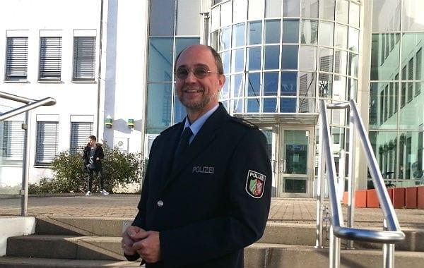 Gerhard Wallmeroth, der neue Chef der Kreispolizei RheinBerg