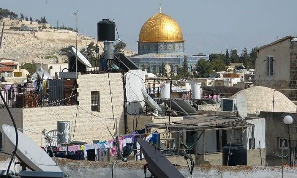 Die historische Stadtmauer von Jerusalem