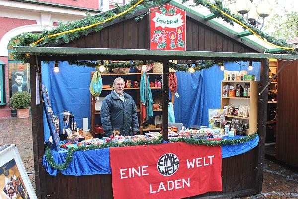 Der Sozialstand auf dem Bergisch Gladbacher Weihnachtsmarkt