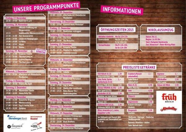 Winterdorf Programm