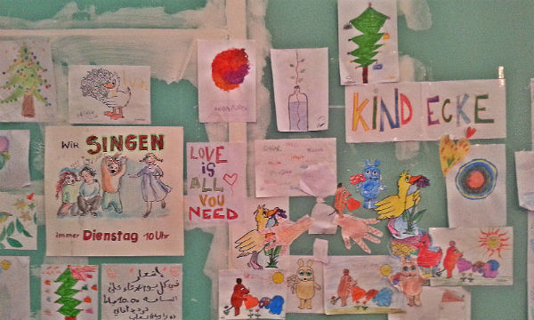 In der Kinderbetreuung in Katterbach helfen viele Ehrenamtler mit