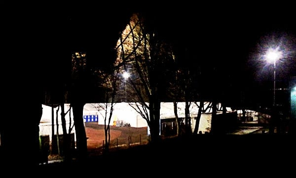 Flüchtlinge Katterbach DRK Zelte Nacht 600