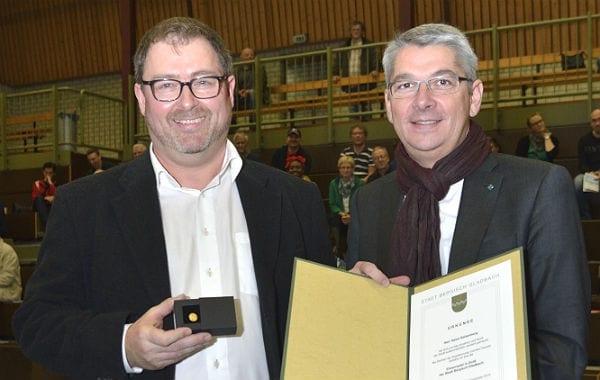 Heinz Kelzenberg, Motor des Badminton-Sports beim TV Refrath, Bergisch Gladbach