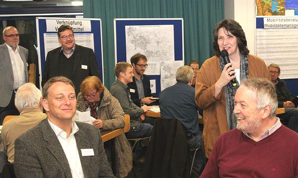 Das Mobilitätskonzept wurde im Rahmen einer Bürgerbeteiligung vorgestellt