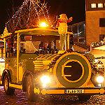 Der Weihnachts-Express bimmelt durch Gladbach