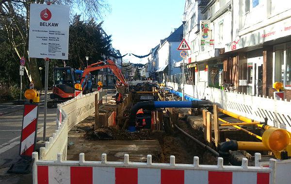 Hier will die Belkaw spätestens Ende Januar fertig sein - und Platz für die richtig große Baustelle machen