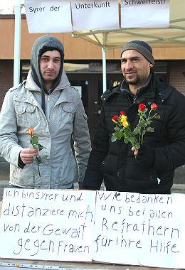 Flüchtlinge Refrath Rosen 2 260