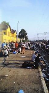 Bahnhof in Mazedonien