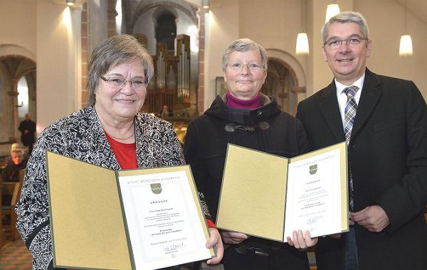 Helga Bernhauser und Ursula Wenzel