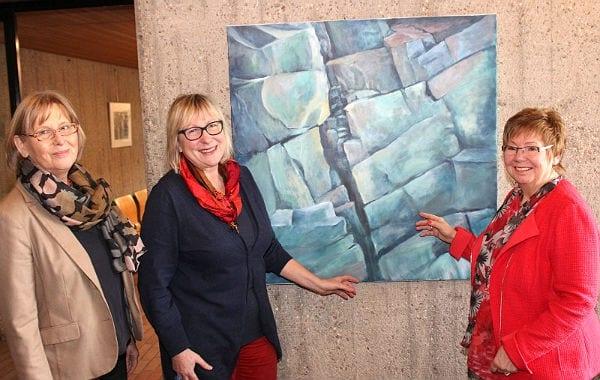 Karin Kuthe zeigt Bilder im Rathaus Bensberg