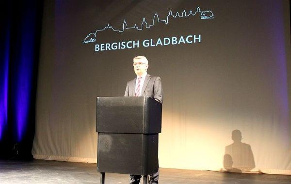 Bürgermeister Lutz Urbach im Bergischen Löwen