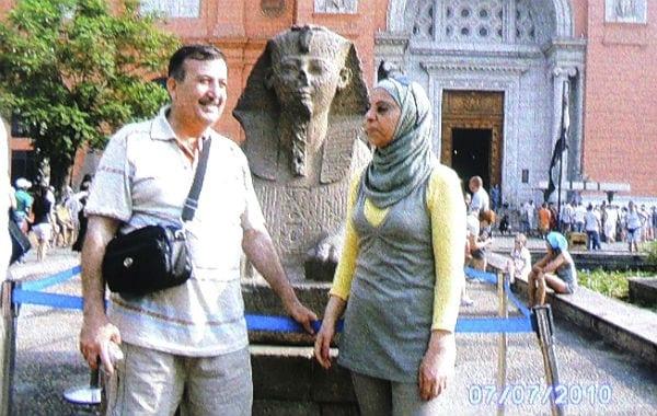 4 Khalil und seine Frau in Ägypten 600