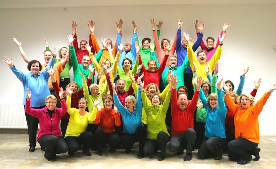 Der Chor Lichtblick tritt in St. Marien in Gronau auf