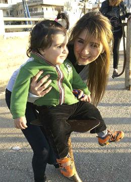 Faheds Frau und Sohn 260