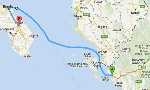 Igoumenitsa-Lecce 600