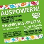 Karnevals-Special: 1000 Kilokalorien auf einen Schlag
