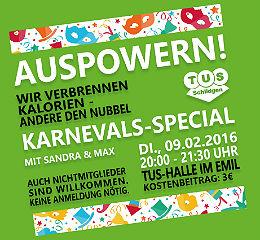 Karnevals-Auspowern 260