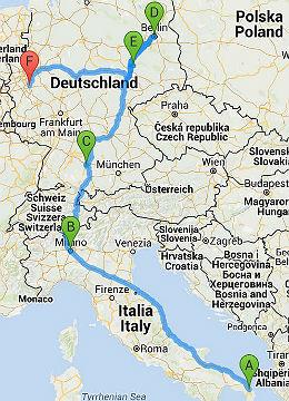 Lecce-Berlin-Bergisch Gladbach 260