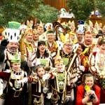 Größter Prinzenchor des Rheinlands lässt Kreishaus beben