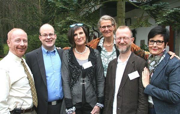 Bob Neimeyer, David Roth, Sylvia Brathuhn, Chris Paul, Jan Gramm und Christiane Poertgen