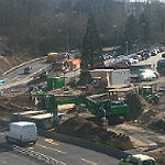 Baustelle Schnabelsmühle: Schadstoffe werden entsorgt