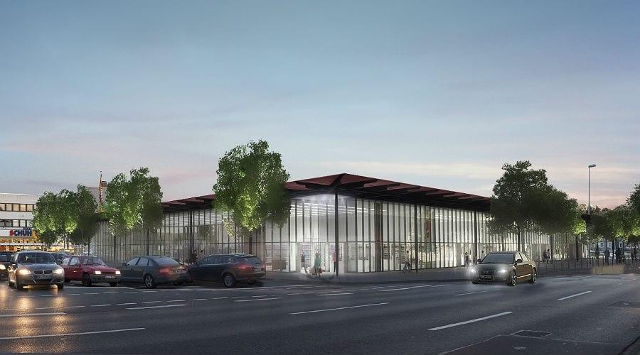 Der Entwurf von Architekt Bernd Zimmermann, Bergisch Gladbach-Gronau