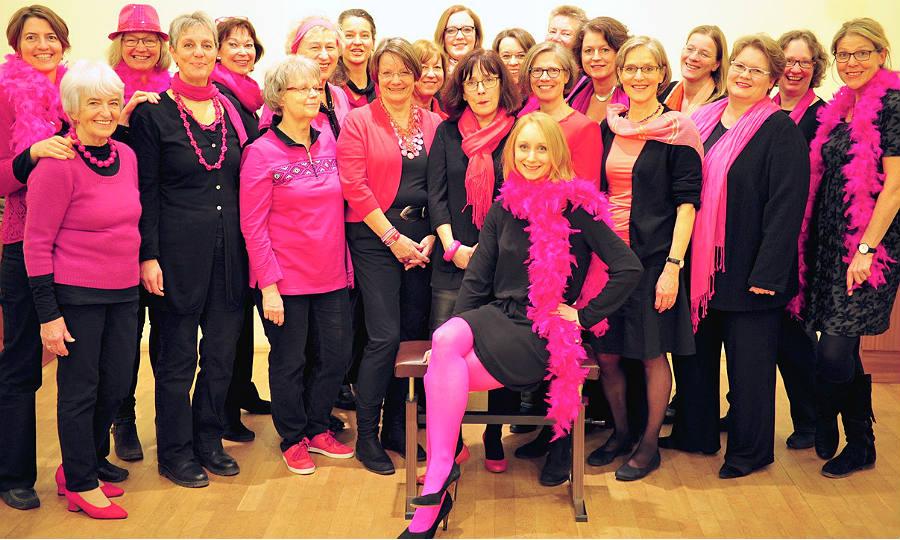 Die Pink Pömps - der Frauenchor aus Bergisch Gladbach-Schildgen