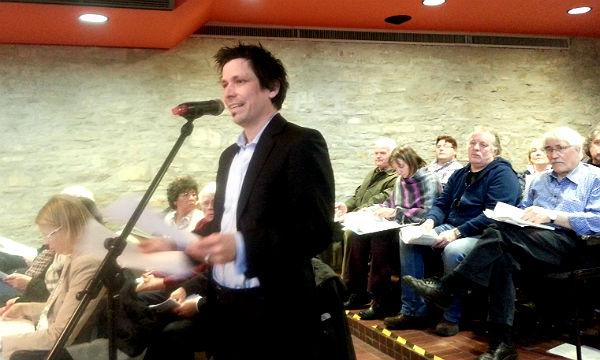 David Bothe, Sprecher der Bürgerinitiative Moitzfeld-Herkenrath