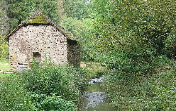 Die Strunde bei der Igeler Mühle.