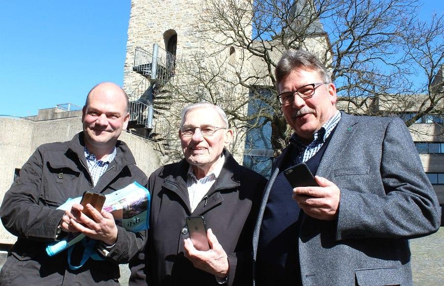 Die App-Macher: Bernhard Wolf, Krauss, Westermann