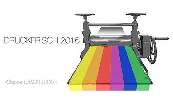 Ausstellung Druckfrisch 2016 in der VHS Bergisch Gladbach