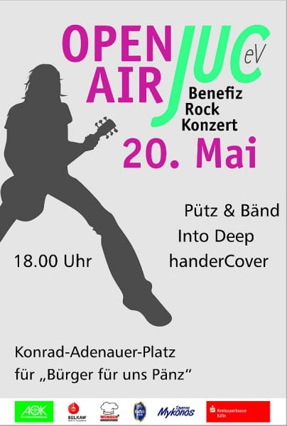 JUC Open Air 2016 Plakat 600