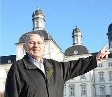 Karl Krauß, Urgestein unter den Bensberger Stadtführern und intimer Kenner Bensbergs
