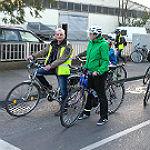 """Radfahrer erobern als """"Critical Mass"""" die Straßen"""