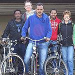 Drei Jahre Fahrradwerkstatt in der Pfarrhausgarage