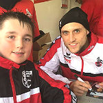 FC-Profi trainiert Fußball-Jugend des TuS Moitzfeld