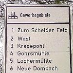 Gewerbegebiete in Bergisch Gladbach