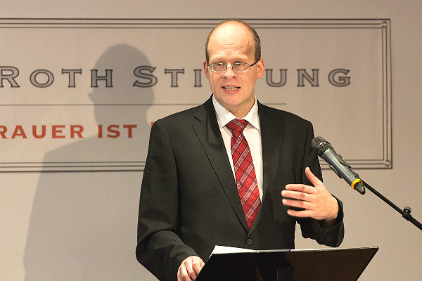 David Roth, Vorstand der Stiftung und Geschäftsführer des Bestattungshauses Pütz Roth, Bergisch Gladbach