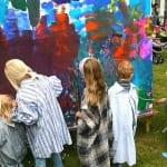 Kinder werden zu Künstlern