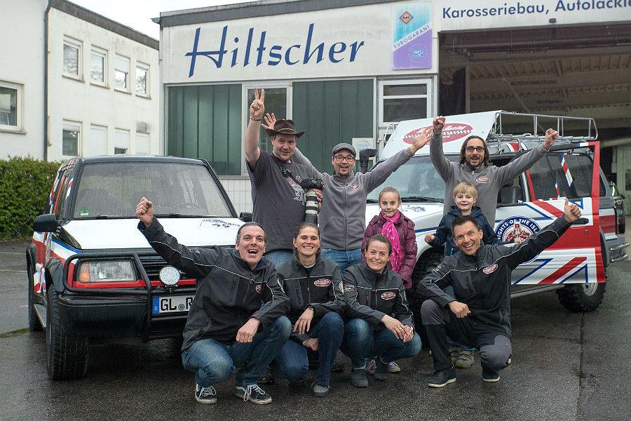 Das Team von Restless Racing, Bergisch Gladbach