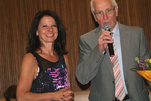 Anita Rick-Blunck, die Landtagskandidatin der FDP RheinBerg