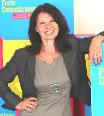 Anita Rick-Blunck, Kandidatin der FDP für die Landtagswahl NRW, Wahlkreis 22